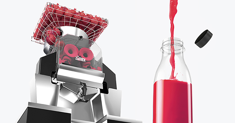 Speed Pomegranates, el exprimidor self-service profesional que llega a los supermercados para facilitar el consumo de granada